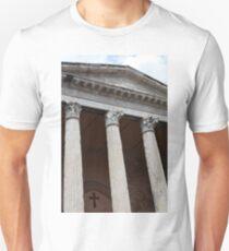 Classical temple with Corinthian columns T-Shirt