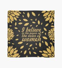 "I believe in... ""Malala"" Inspirational Quote Scarf"