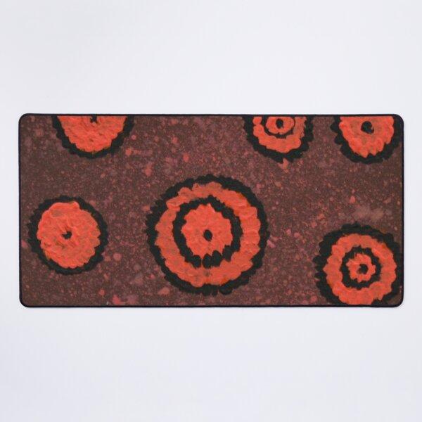 Orangeshed (triptych part c) Desk Mat