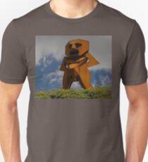 Rusty Man, Sculptures By The Sea, Australia 2010 T-Shirt