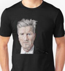 David Lynch Digital Painting Portrait T-Shirt