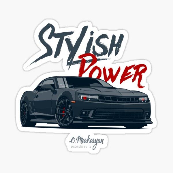 Stylish Power. Camaro SS Sticker