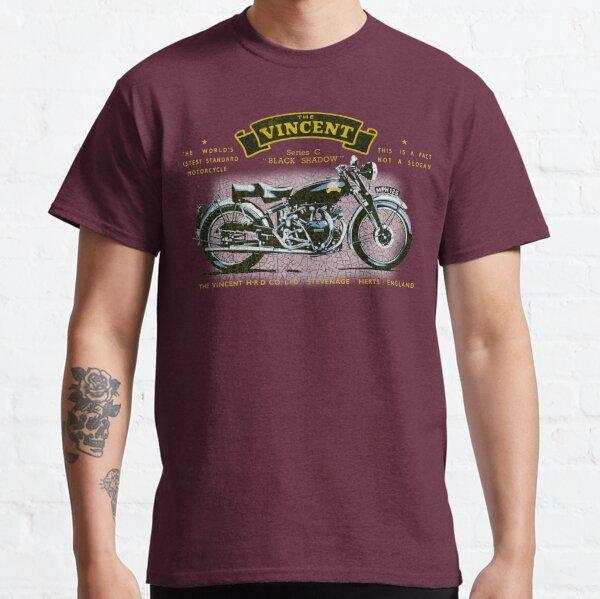 Vincent Black Shadow UK T-shirt classique