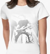 Bass Guitarist Womens Fitted T-Shirt