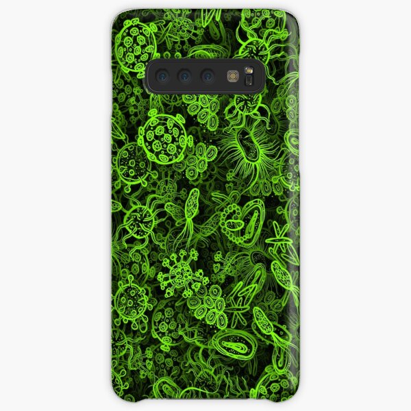 Green micropets Samsung Galaxy Snap Case