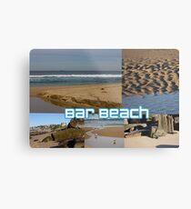 Bar Beach Metal Print