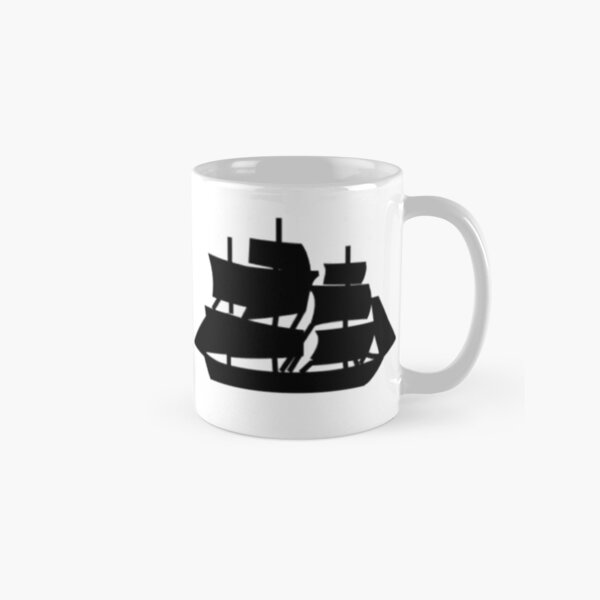 Guns and Ships Hamilton Classic Mug