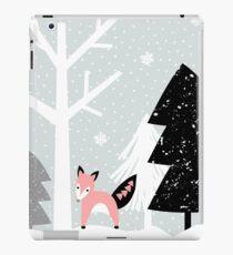 Winter Forest Scene iPad Case/Skin