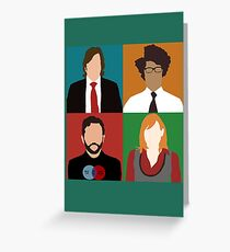 IT Crowd Greeting Card