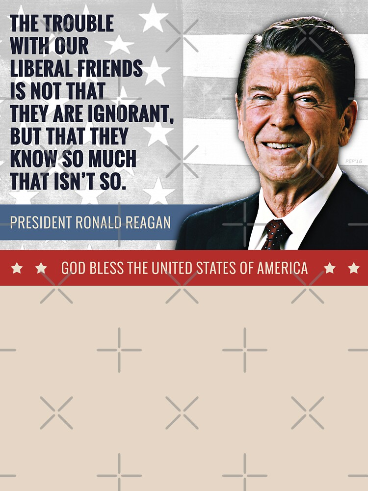 President Ronald Reagan Quote by morningdance