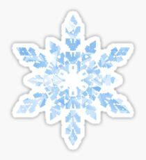 Schneeflocke Sticker