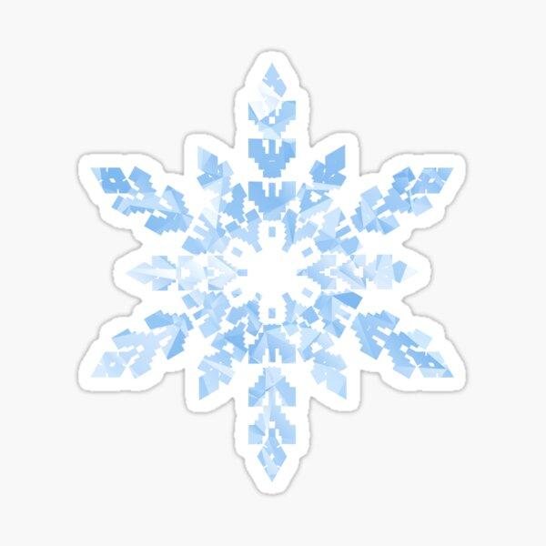 Copo de nieve Pegatina