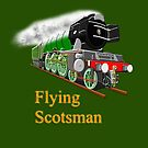 The Flying Scotsman with Blinkers by Dennis Melling