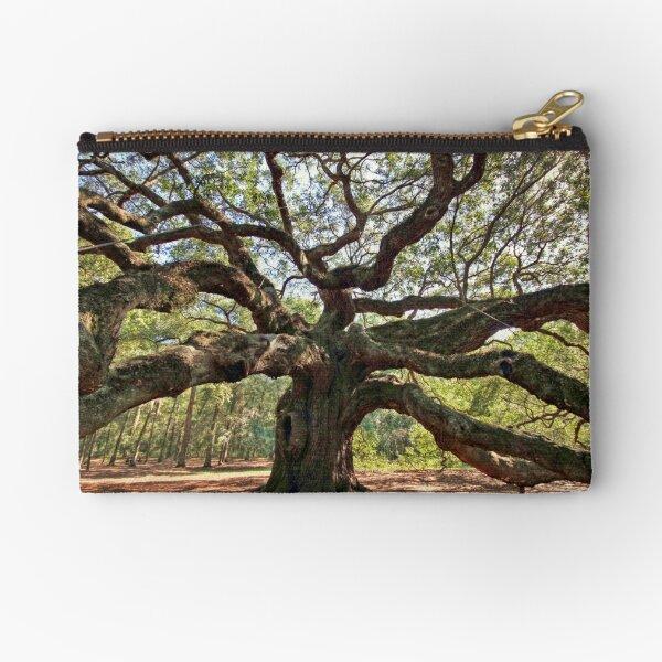 The Angel Oak Zipper Pouch
