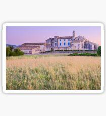 Dusk on Salagon - Provence Sticker