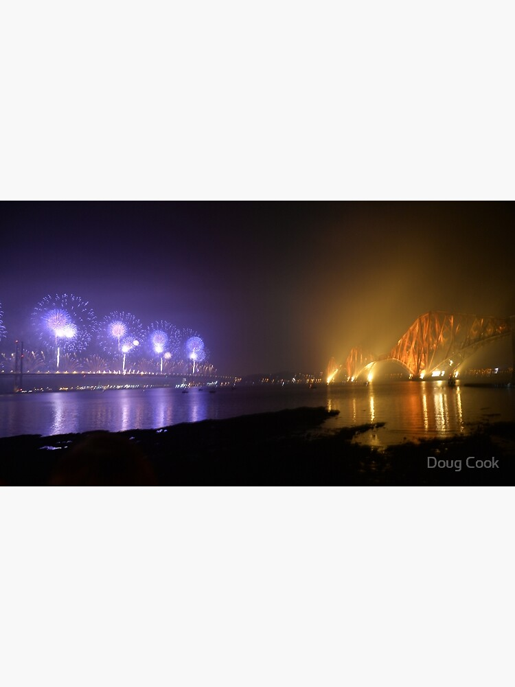 The Bridge at 50 Fireworks Celebration by DougCook