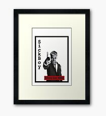 Trainspotting -johnny lee- Framed Print