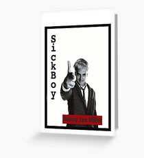 Trainspotting -johnny lee- Greeting Card