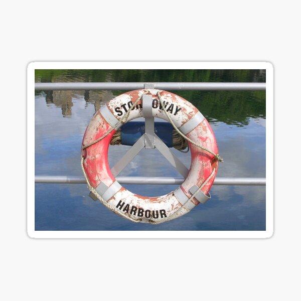 Stornoway Lifebelt Sticker