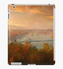 View of Budapest iPad Case/Skin