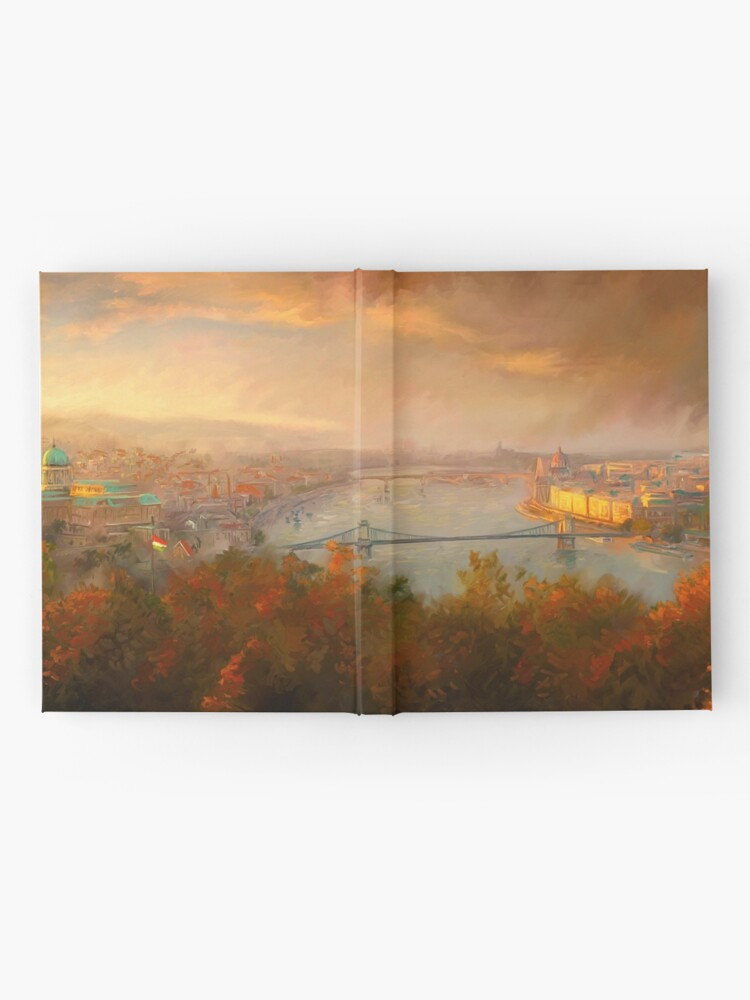 Alternate view of View of Budapest Hardcover Journal