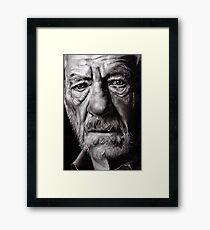 Ian McKellen Framed Print