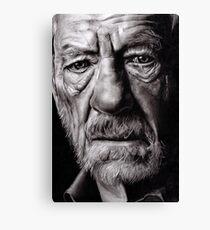 Ian McKellen Canvas Print