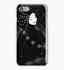 Lady in Black iPhone Case/Skin