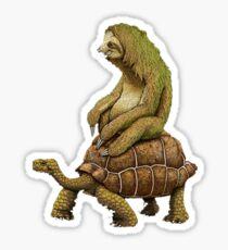 Funny Turtle,Fast,Animal,Lucky Turtle,Ninja,Speed Sticker