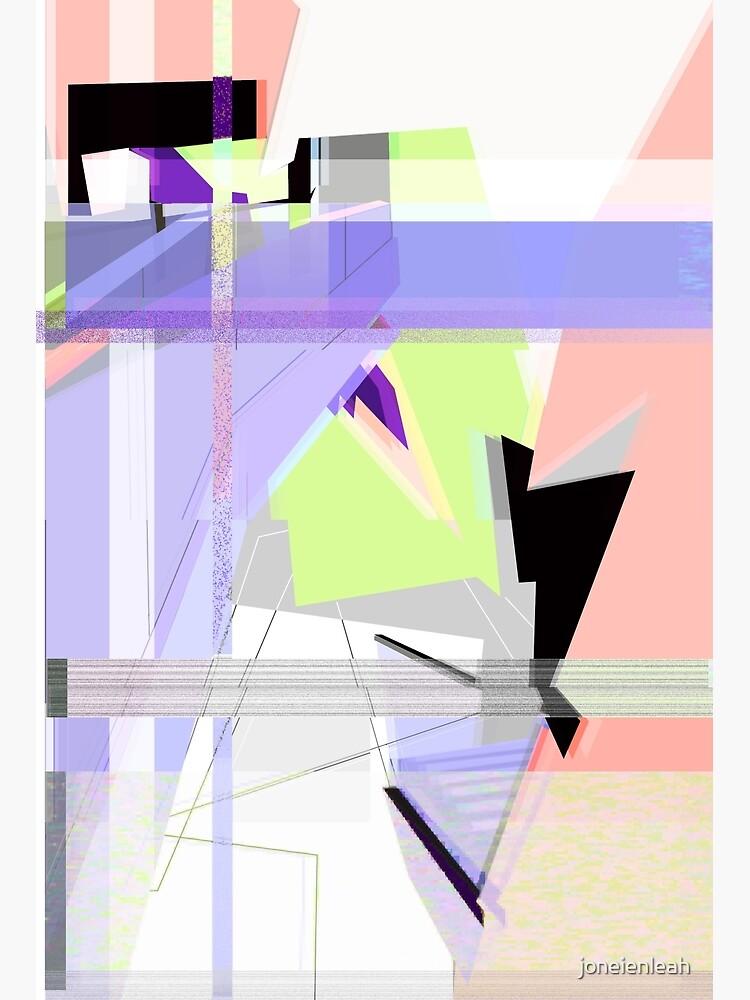 Abstract 80's Glitch Art by joneienleah