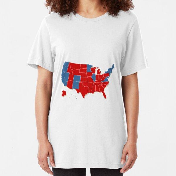 Donald Trump 45 Us Prasident Usa Karten Wahl 2016 T Shirt Von