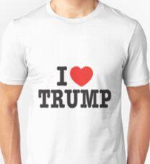 I Love TRUMP - Donald Trump 45th US President 2016 Unisex T-Shirt