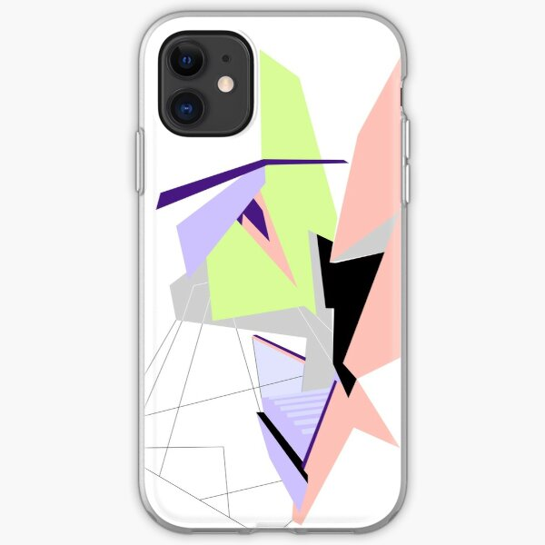 Abstract Geo iPhone Soft Case