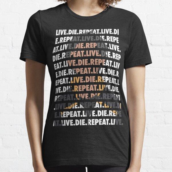 Vivre. Mourir. Répéter. / Re Zero T-shirt essentiel