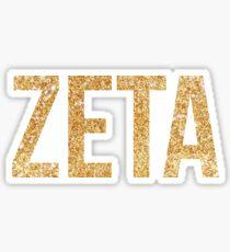 zeta gold~~~~ Sticker