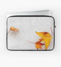 Nature is painting on white canvas Laptop Sleeve