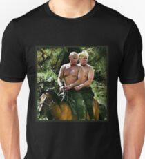 Camiseta unisex Mejores amigos Trump y Putin