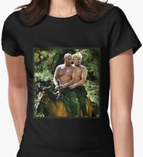 Best Friends Trump & Putin Women's Fitted T-Shirt