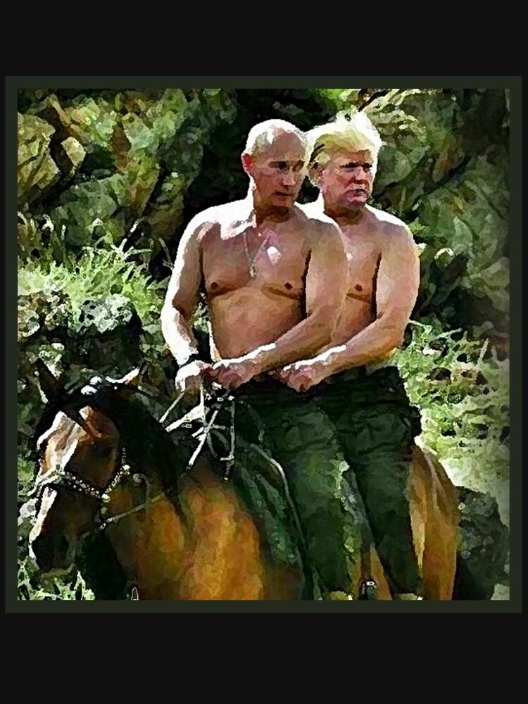 Best Friends Trump & Putin by andyjonesy87