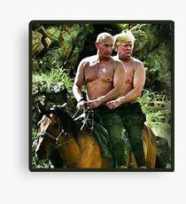 Best Friends Trump & Putin Canvas Print