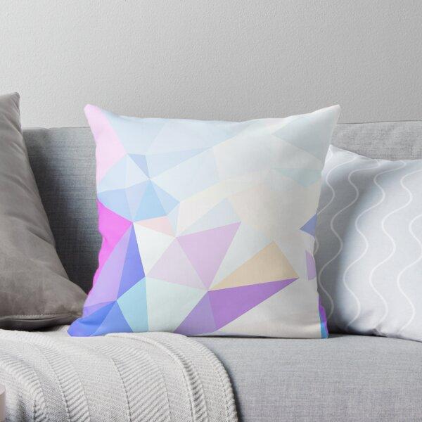 Pastel Prism-2 Throw Pillow