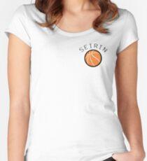 Kuroko No Basuke/Basket - Seirin Bench Uniform Women's Fitted Scoop T-Shirt