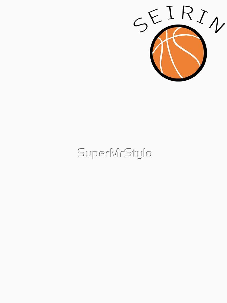 TShirtGifter presents: Kuroko No Basuke/Basket - Seirin Bench Uniform | Long Sleeve