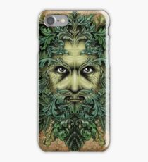 The Green Man iPhone Case/Skin