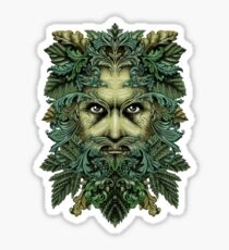The Green Man Sticker