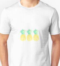 3 pineapples in a row Unisex T-Shirt
