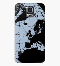 World Web (blue) Case/Skin for Samsung Galaxy