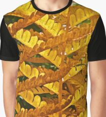Lacing Ferns Graphic T-Shirt