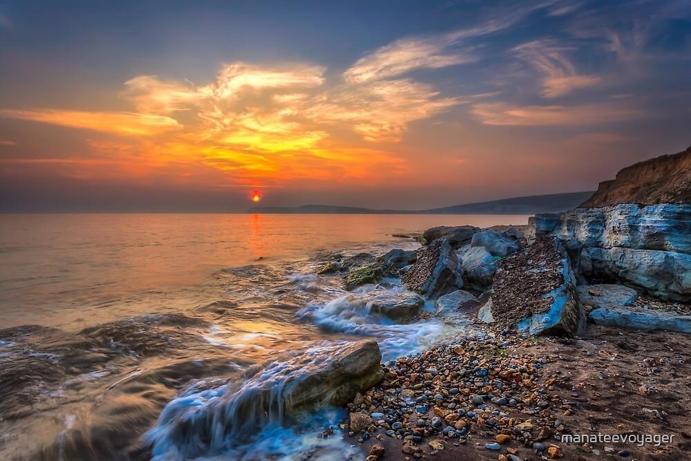 Rocky Point Sunset by manateevoyager
