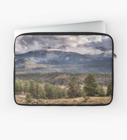 Rocky Mountain Cloudscape Laptop Sleeve